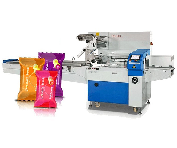 Rotary automatic pillow packing machine