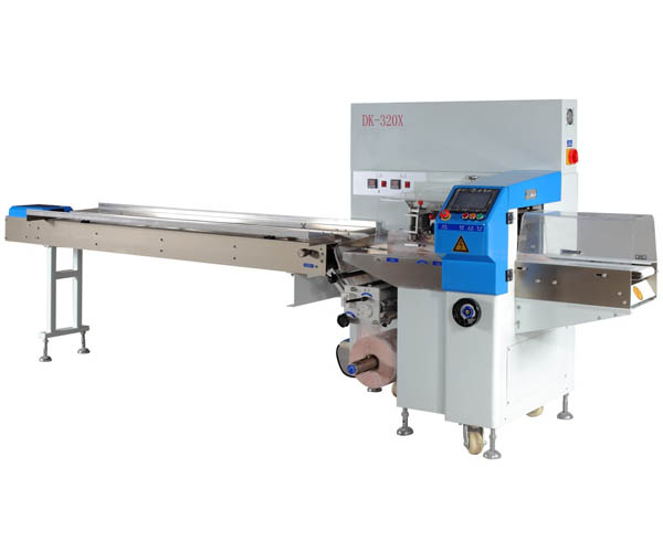 DK-220 xse servo down paper pillow packaging machine