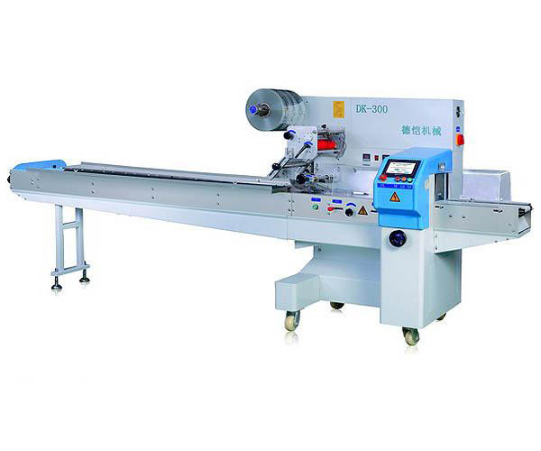 DK - 300 se servo rotary pillow packaging machine