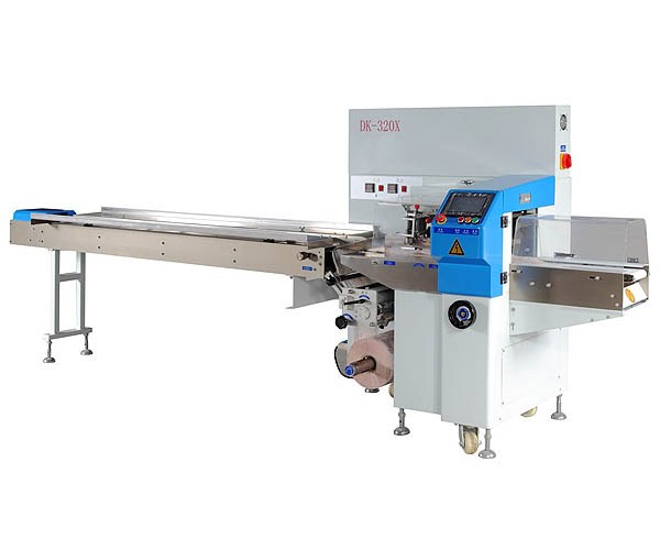DK - 320 xse servo down paper pillow packaging machine