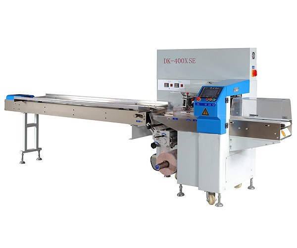 DK - 400 - x SE servo down paper pillow packaging machine
