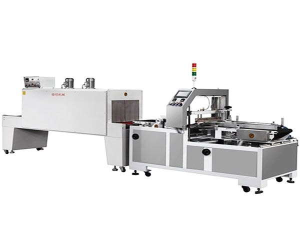 DK-5015+DK-6040 Edge sealing shrink packing machine